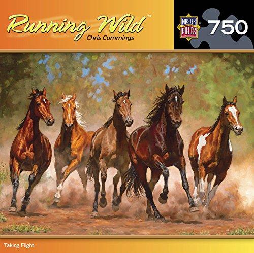 Masterpieces Running Wild Puzzle, Taking Flight (750 Piece Puzzle)