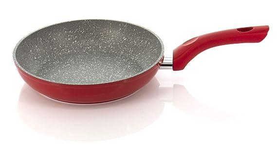 Batería de ollas y sartenes antiadherente, también adecuada para cocinas de inducción, asas antideslizantes suaves al tacto, sartén de 7 piezas, cazuela, ...