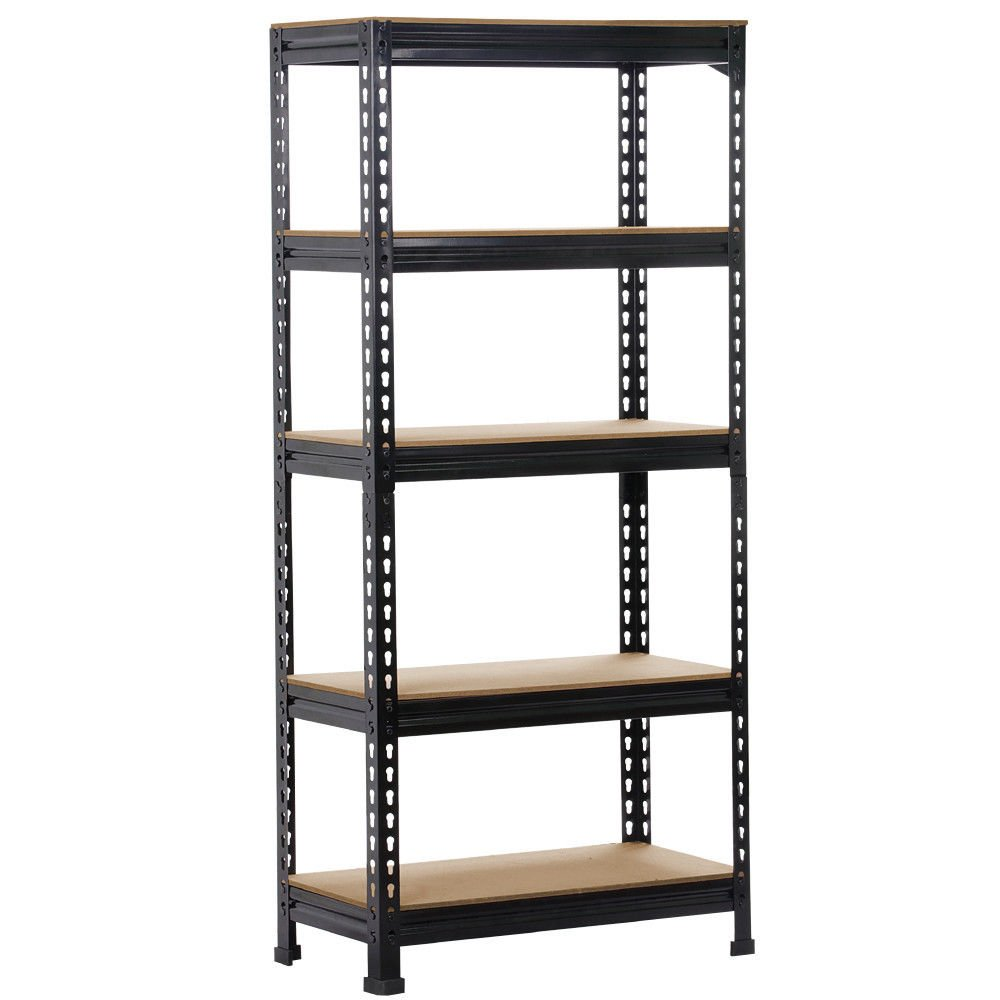Honesty Heavy Duty Storage Rack 5 Level Adjustable Shelves Garage Steel Metal Shelf Unit