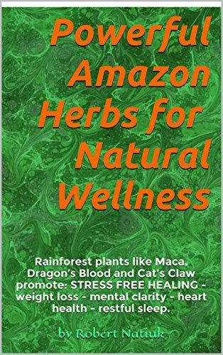 POWERFUL AMAZON HERBS NATURAL WELLNESS ebook product image