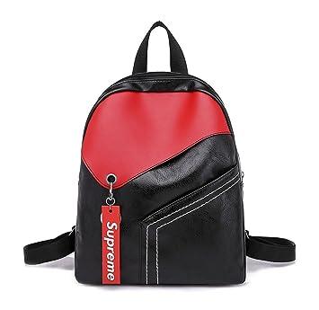 DEERWORD Mujer Bolsos mochila Bolsas escolares Bolsos bandolera Shoppers y bolsos de hombro Cuero de PU: Amazon.es: Equipaje