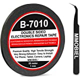 MMOBIEL 1 mm Double Sided Layer Strong Adhesive Tape 50 m Long Roll (Black) for Smartphone Tablet Repair