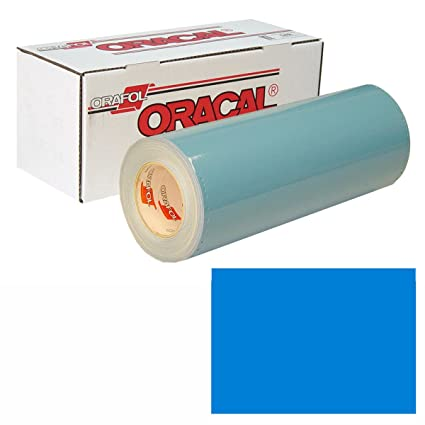 Amazon com: ORACAL 751 30In X 10Yd 517 Euro Blue: Automotive