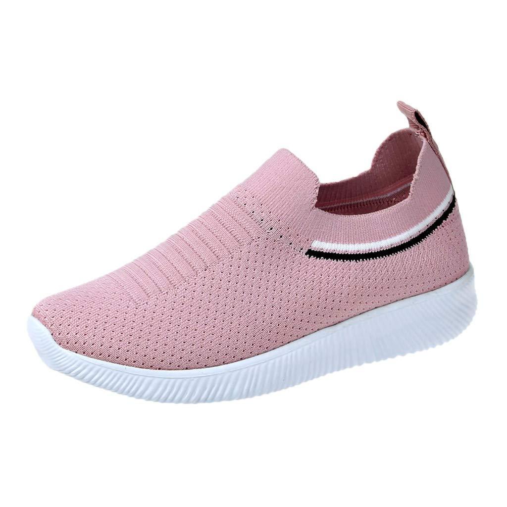 9812ef6db45c5 Amazon.com: Mother's Day Sale Jiayit Women's Slip-on Sneaker Shoes ...