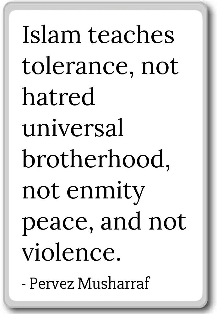 Amazon Islam Teaches Tolerance Not Hatred Univer Pervez