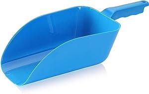 New Star Foodservice 34462 Plastic ice scoop, 64oz, Blue