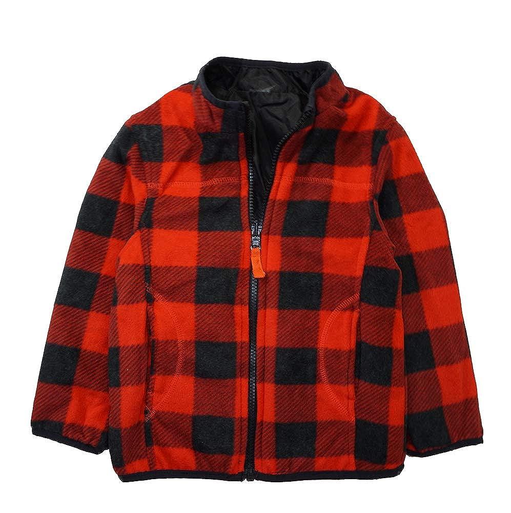 4T Grey Osh Kosh Boys Toddler 4-in-1 Heavyweight Systems Jacket Coat