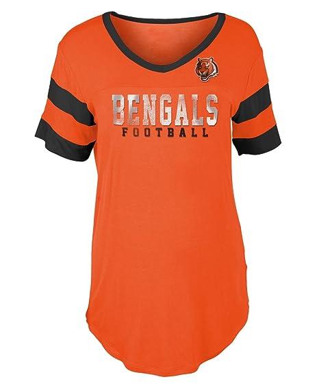 513040e3 Amazon.com : New Era Cincinnati Bengals Women's NFL Touchdown Dual ...
