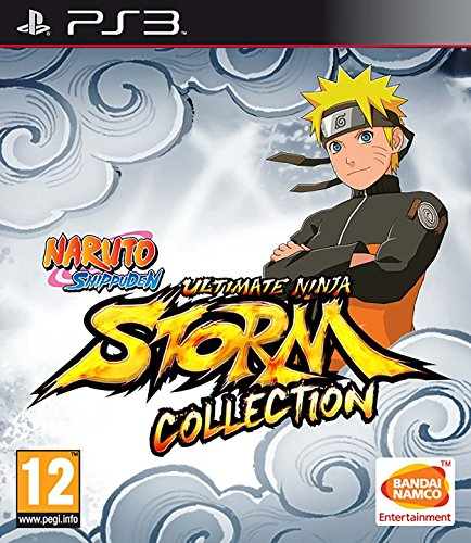 Naruto Shippuden Ultimate Ninja Storm 1+2+3 Full B (Naruto Video Games Ps3)