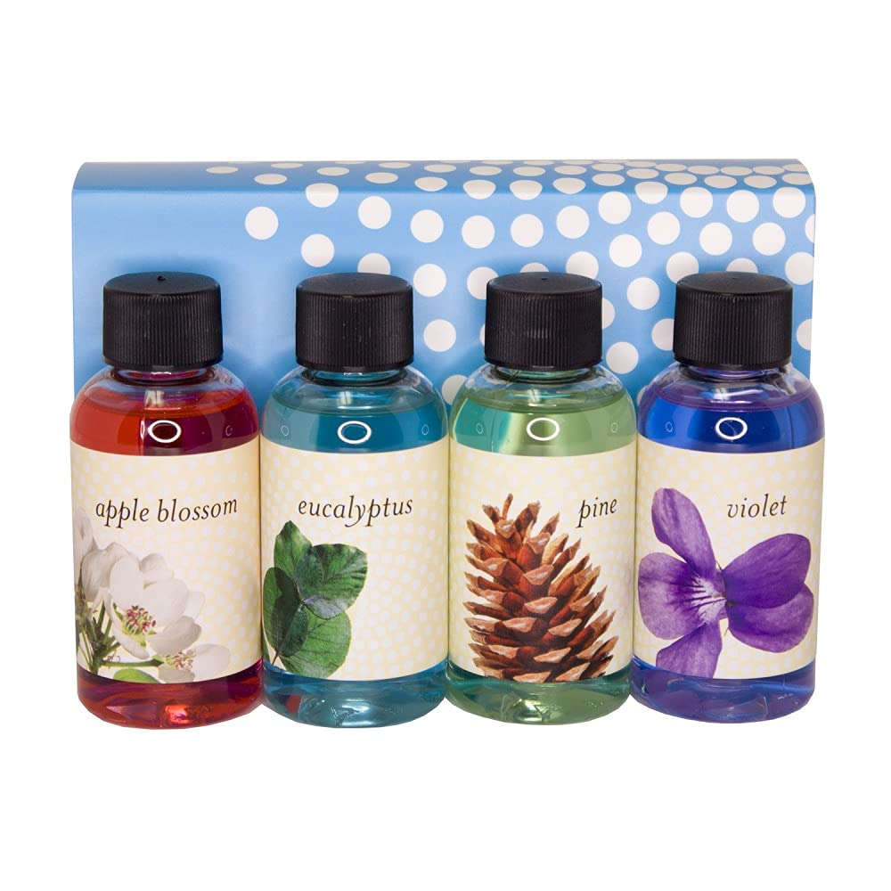RAINBOW and RainMate Genuine (Apple, Eucalyptus, Pine, Violet) Fragrance Pack