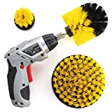 #10: ZIKEE Cleaning Brush for Cordless Drill, Power Drill Scrubber Attachment Kit for Bathroom, Tub, Tile, Grout, Shower, Carpet (Drill NOT Included)