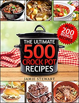 500 crock pot express recipes healthy cookbook for for Crock pot vegetarian recipes healthy
