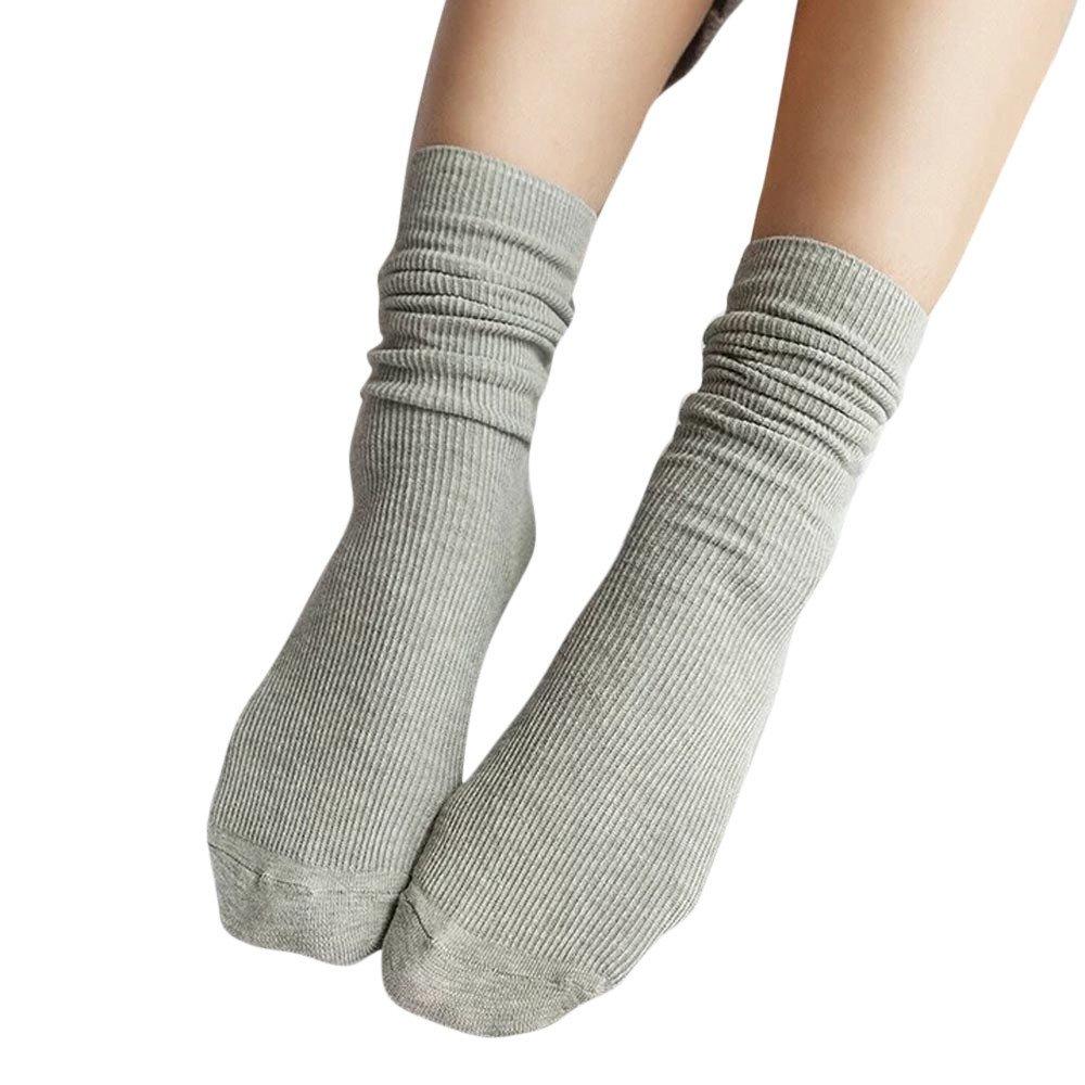YAliDa 2019 clearance sale Fashion Girls Womens Soft knitting Socks Casual Cotton Middle Tube Socks