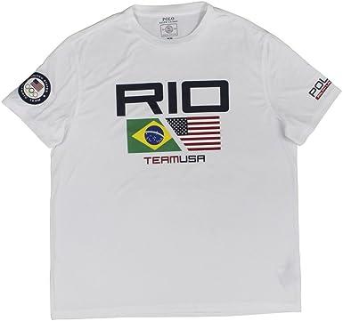 7b1cb91d93 RALPH LAUREN Polo Men's 2016 Olympic USA Team Graphic T-Shirt
