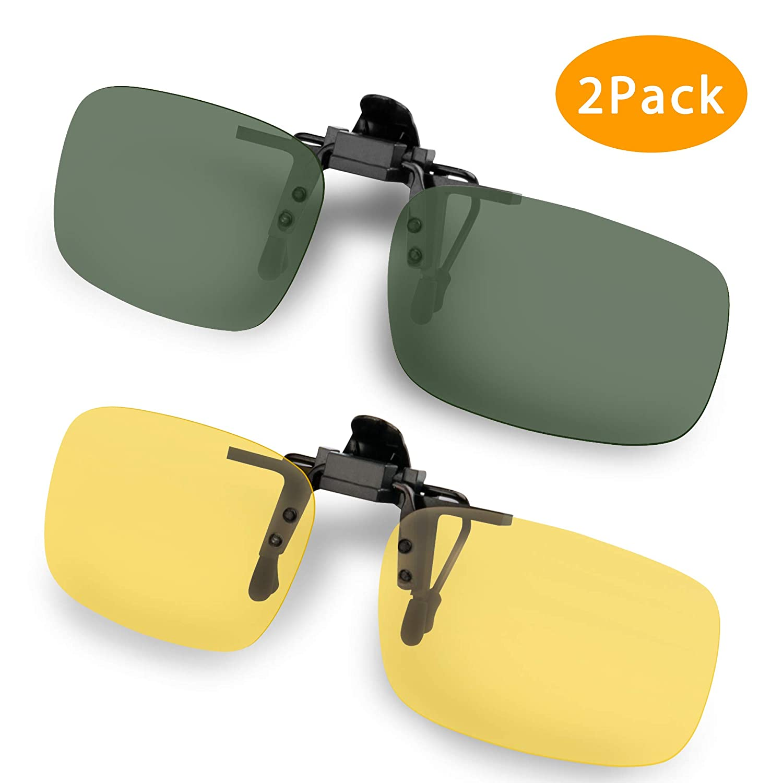 8836343cd8 Splaks Clip-on Sunglasses