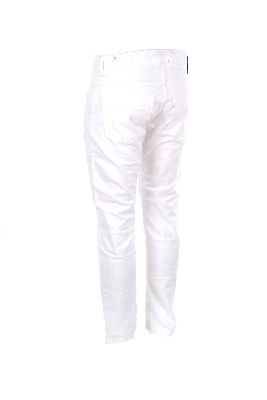 Outfit Jeans Uomo 44 Bianco Odm054/d012/x01 Primavera Estate 2018:  Amazon.fr: Vêtements et accessoires