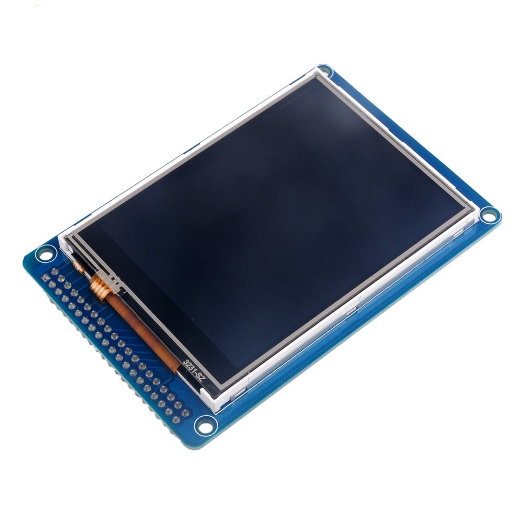 WIshioT 3.2 inch TFT LCD Display Screen Touch Panel with ILI9341 Controller for Arduino Mega
