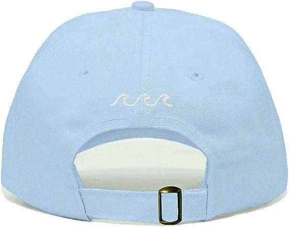 1pc adjustable dad hat women men sea wave baseball cap unisex fashion sports TB
