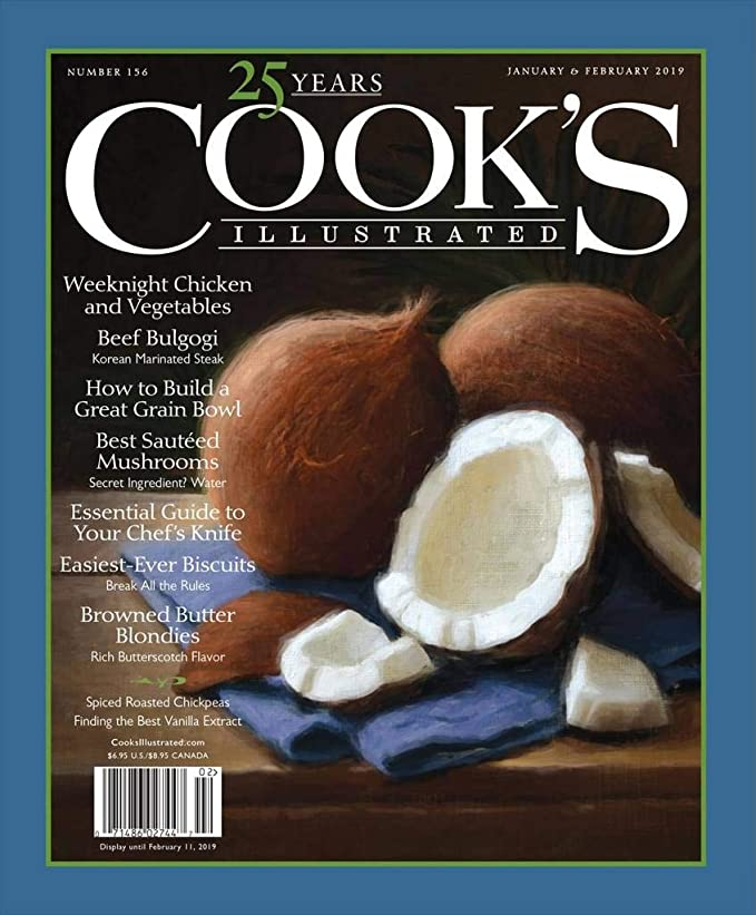Cook's Illustrated by Amazon