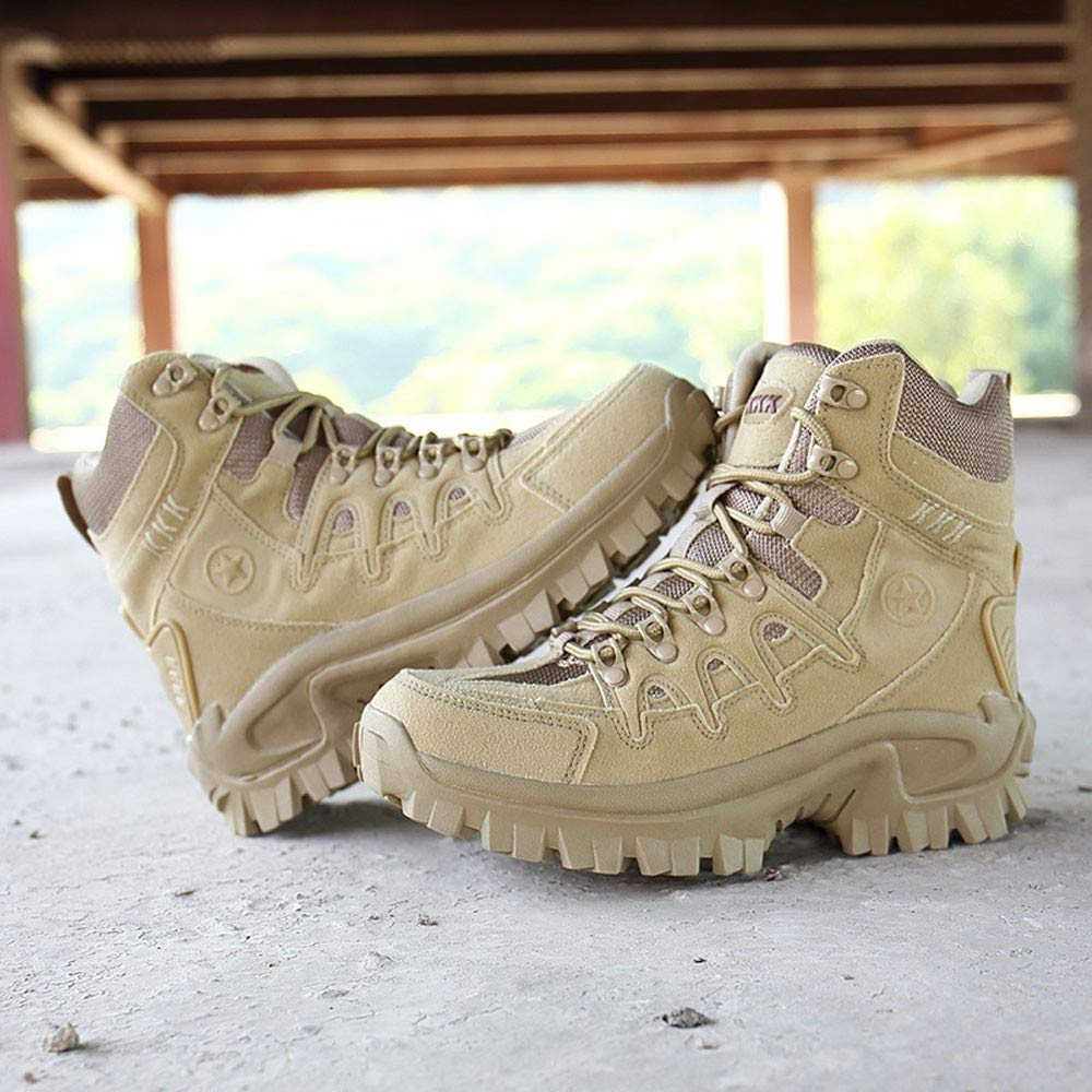 017f9947a3f2db Hand Tools Caopixx Mens Sport Army Tactical Boots Desert Outdoor Hiking  Leather Boots Combat Shoes