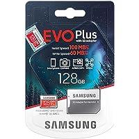 Samsung Evo plus 128GB Micro SD SDXC Clase 10 tarjeta de memoria U3 100MB/S (MB-MC128HA APC)