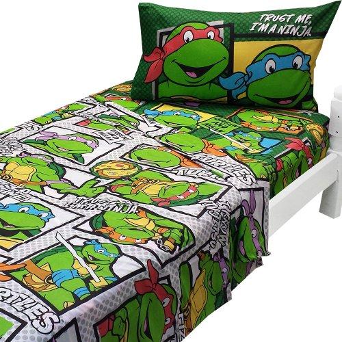 Ninja Turtles Double Bed Set