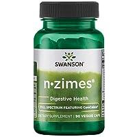 Swanson Full Spectrum N-Zimes 90 Veg Capsules Enzyme