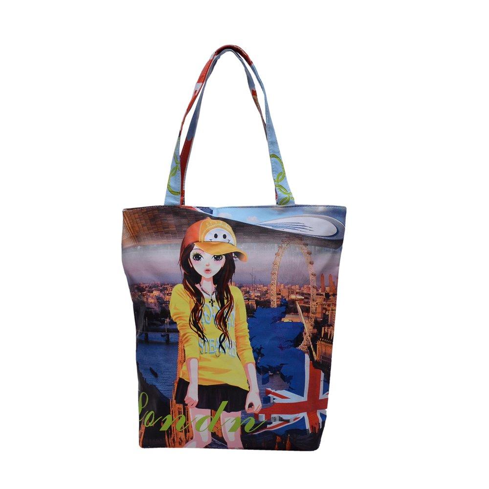 7224a1281017 Ruff Multi Color Women s Handbag PU Handbag Casual Handbag Stylish Girls Ladies  Handbag College Bag  Amazon.in  Shoes   Handbags