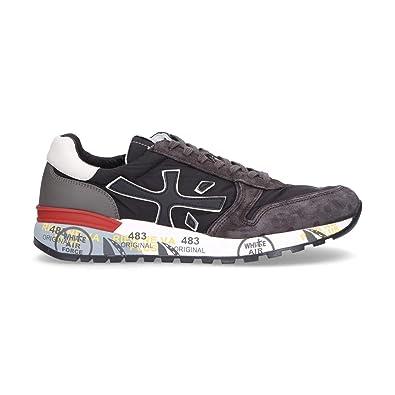 PREMIATA Herren MICK2343 Schwarz Wildleder Sneakers  Amazon.de ... 44f58e4f06