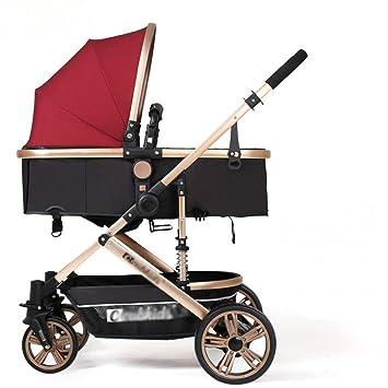 GFGF &Cochecito de bebé Carro de bebé Carro de Mano ...