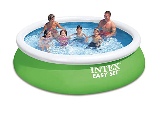 Intex Easy Set - Kit de Piscina Color Verde, 366 x 366 x 84 cm ...