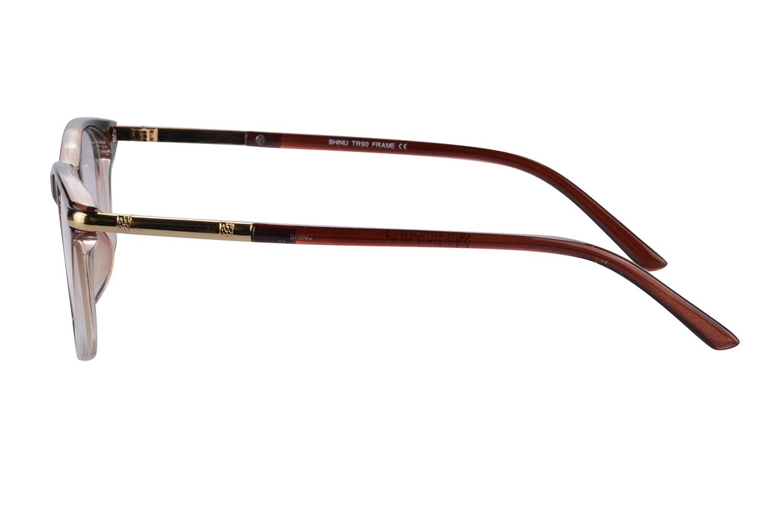c46bf2e9d3d Amazon.com  SHINU Horn Rimmed Readers Progressive Multifocus Computer  Reading Glasses-SH017(pink demi