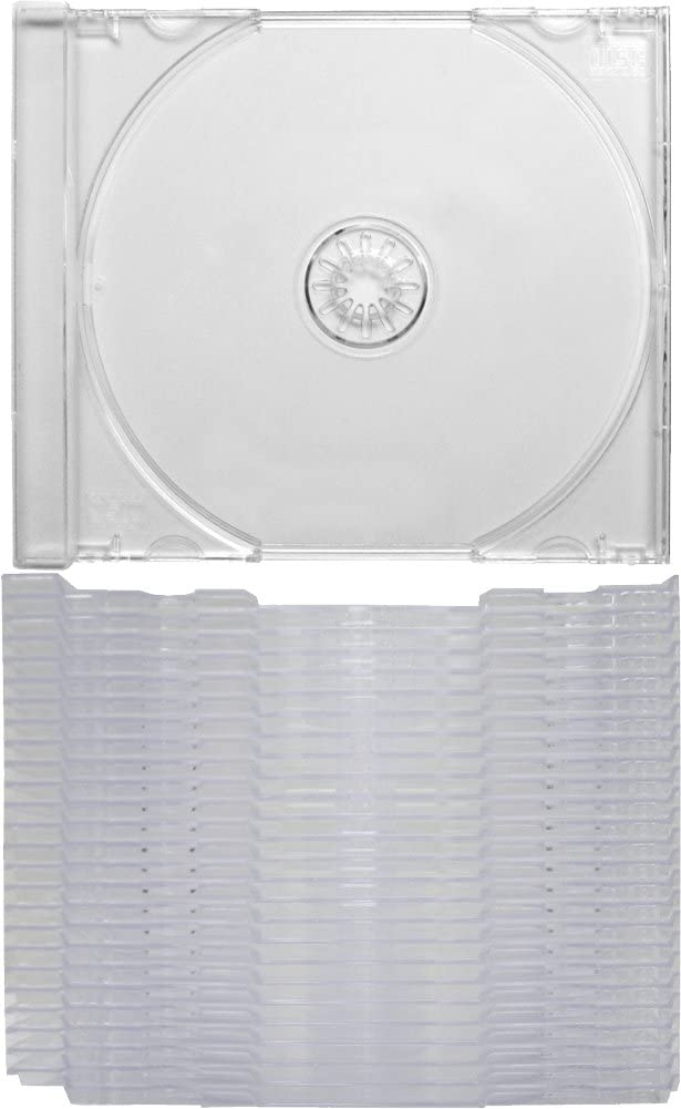 also snaps into the Chubby Jewel Boxes! Clear Replacement CD Trays // Inserts for CD Jewel Boxes Fits any standard size 10mm Jewel Box #CDIS80CL 25