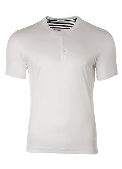 Dolce \u0026 Gabbana Henley T-Shirt, col
