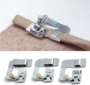 3 piezas de prensatelas para máquina de coser, juego de accesorios ...