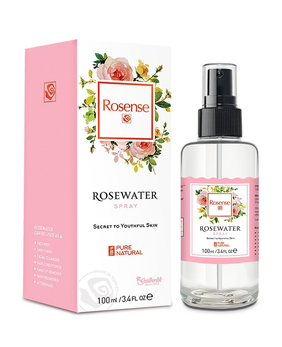 rose water face spray