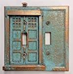 Tardis (Dr Who) - Double Light Switch Cover