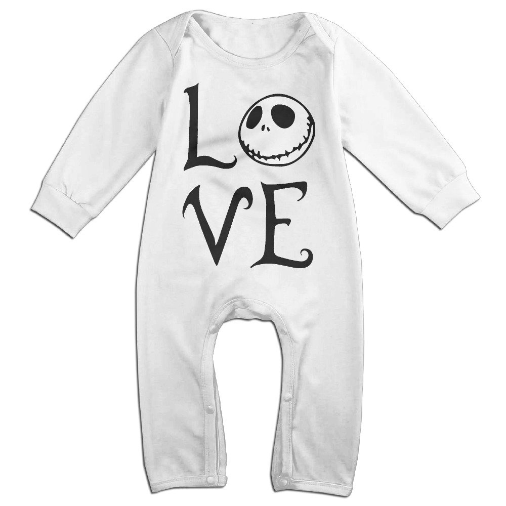 Unisex-baby The Nightmare Before Christmas Long Sleeve Jumpsuit Playsuit Clothes