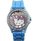 New Lovely Fashion Hello Kitty watches Girls Ladies Wrist Watch WKT@KTW574L