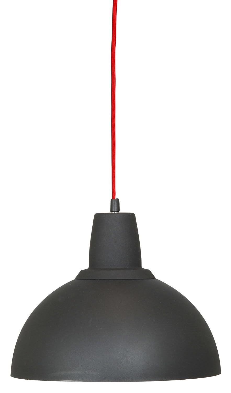 Ranex Hängeleuchte Industrielampe, Metall, schwarz E27-Fassung 6000.903L