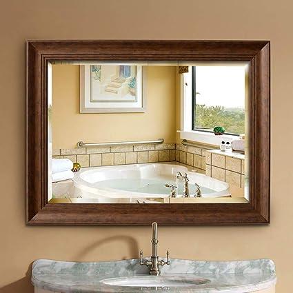 Specchio Grande Da Bagno.Bathroom Mirror Specchio Da Parete In Legno Di Recupero Rustico 36 X