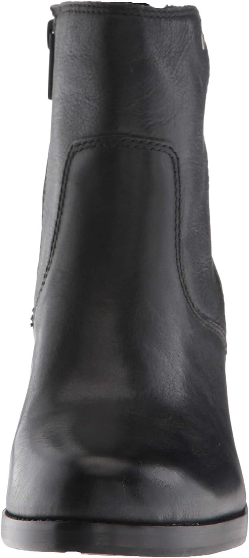 FRYE Womens Emma Wedge Short Fashion Boot