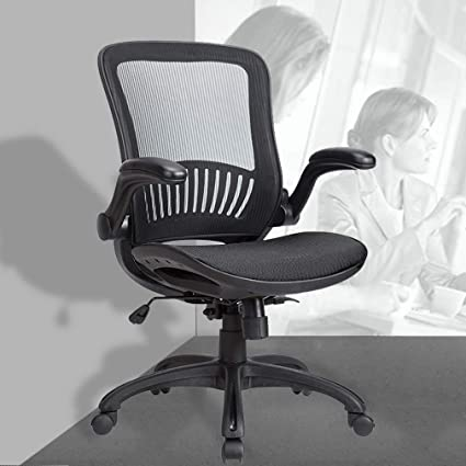 Amazon.com  BestOffice Mid-Back Home Office Executive Rolling Swivel ... 8f37d2177