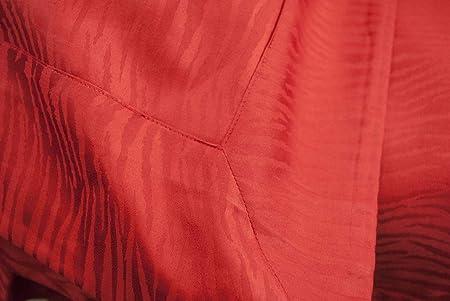Copripiumino Matrimoniale 250x250.Copripiumino Matrimoniale Rosso Raso Cotone Jaquard Zebra 250x250