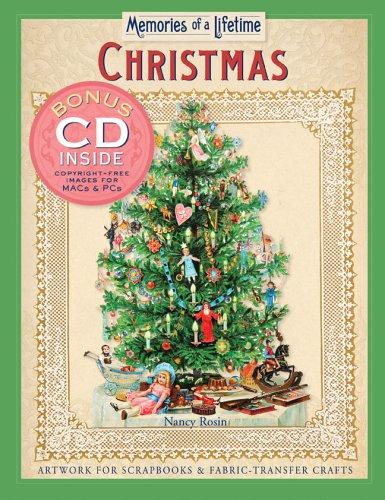 Read Online Memories of a Lifetime: Christmas: Artwork for Scrapbooks & Fabric-Transfer Crafts PDF