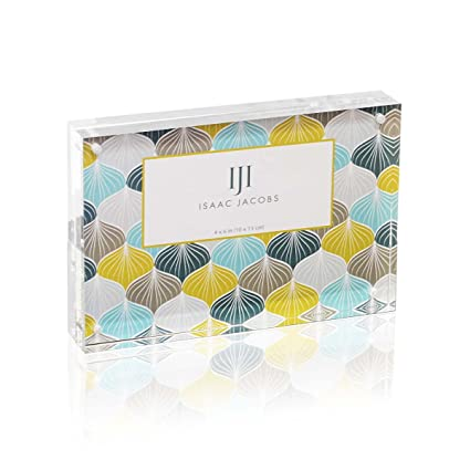 Amazon.com: Isaac Jacobs Super Thick Acrylic Magnetic Block Frame ...