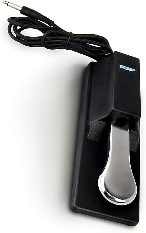 HQRP Pedal de sostenido Universal Estilo Piano para Casio CTK-3000 CTK-3200 CTK-451 CTK-471 CTK-481 Piano Digital: Amazon.es: Electrónica