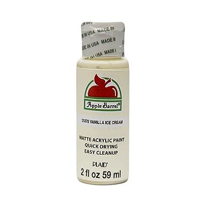 Apple Barrel Acrylic Paint In Assorted Colors 2 Oz 21378 Vanilla Ice