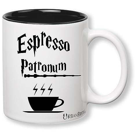 Amazon.com: Harry Potter Espresso patronum Taza (regalo ...