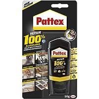 Pattex Repair 100% alleslijm, sterke lijm voor binnen en buiten, lijm voor reparatie van verschillende materialen, 1 x…